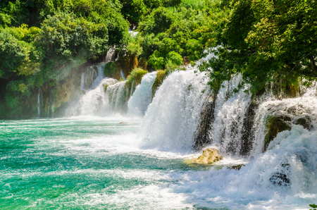 Waterfalls of Krka National Park, Croatia