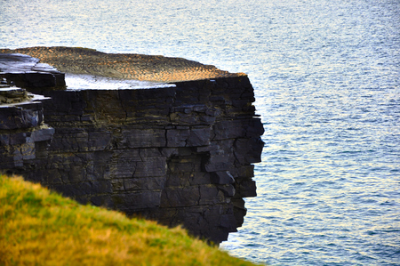 The Kilkee Cliff walk is a scenic 2 to 3 hour (8km) moderate loop walk along the Kilkee Cliffs starting at the Diamond Rocks Café, Pollock Holes car park.