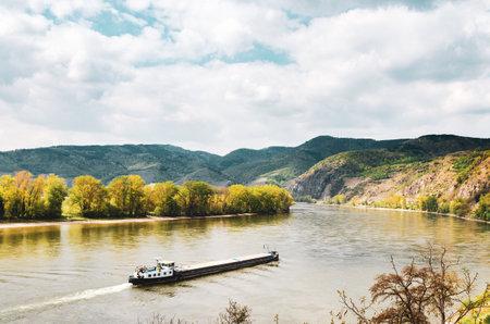 Durnstein Danube river