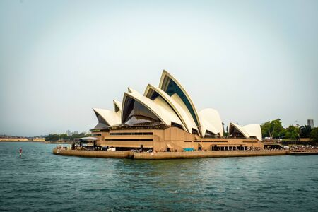 December 29, 2019 - Sydney, Australia: A spectacular view of the world famous Opera House at Sydney Harbour, Australia