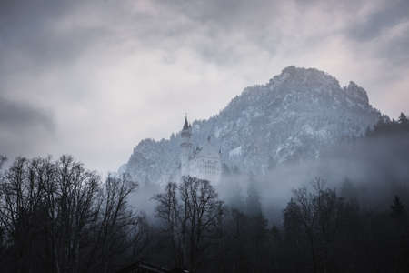 neuschwanstein: Hidden Castle, Neuschwanstein, Bavaria