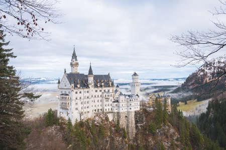 neuschwanstein: Neuschwanstein Castle, Bavaria Editorial