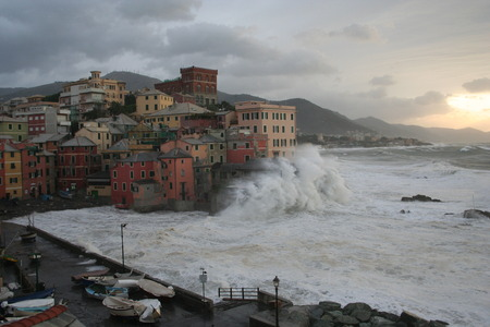 genoa: storm in Genoa