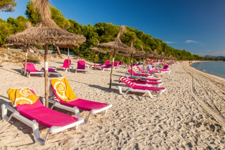 Alcudia Beach, Mallorca, Balearic Islands, Spain