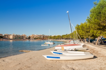 Port  of Alcudia, Mallorca, Balearic Islands, Spain photo