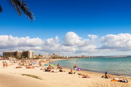 Platja de Palma Beach, Mallorca, Balearic Islands, Spain