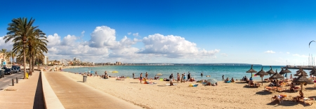 Platja de Palma Beach, Mallorca, Balearic Islands, Spain