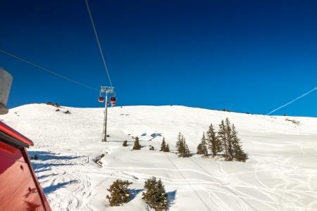 wildkogel austria: Austrian Alps near Kitzbuehel in winter