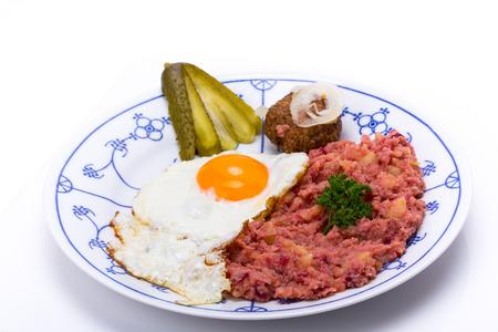 comida alemana: Labskaus, comida tradicional del norte de Alemania