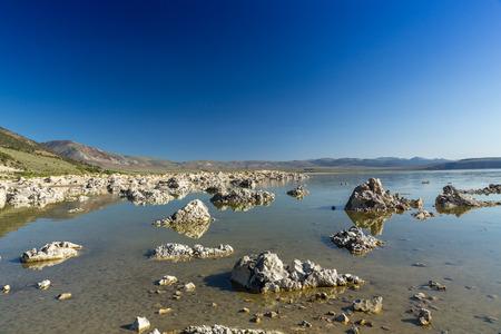 sediments: Mono Lake, California, USA