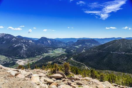 colorado mountains: Rocky Mountain National Park, Colorado, USA
