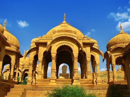 Jaisalmer, la magnífica ciudad de oro en el corazón de Rajasthan (India), rodeado por el desierto de Thar.