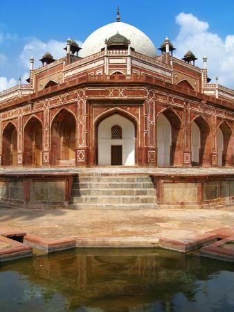New Delhi: Humayuns Tomb. India. photo