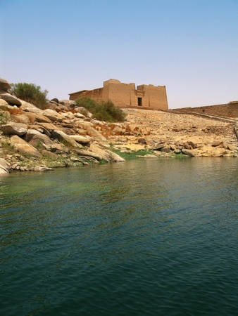 nile: Aswan, Egypt: Temple of Kalabsha in Lake Nasser. Built by Emperor Augustus, it was the largest free-standing temple of Egyptian Nubia.