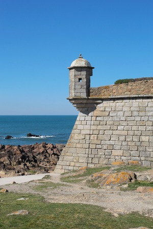 Porto, Portugal: Forte de Sao Francisco Xavier or Castelo do Queijo, built in 1661