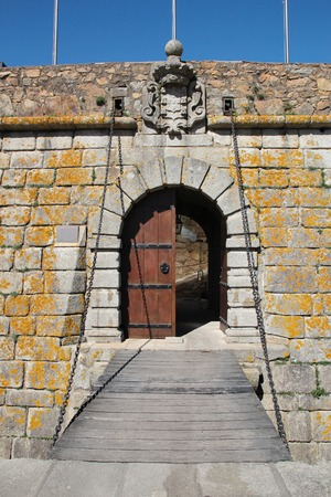 forte: Porto, Portugal: Forte de Sao Francisco Xavier or Castelo do Queijo, built in 1661