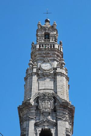 Porto Portugal: Torre dos Clerigos citys landmark and symbol