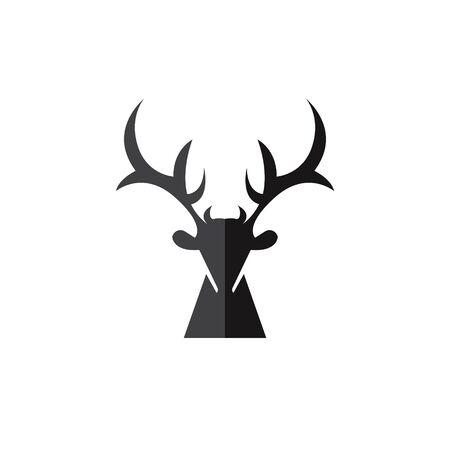 vector illustration of deer Vettoriali