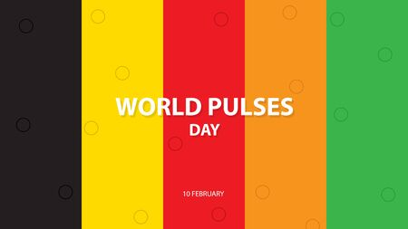 World Pulses Day. Vector illustration background