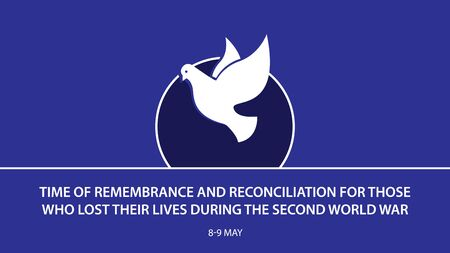 Time of Remembrance and Reconciliation for Those Who Lost Their Lives During the Second World War. background