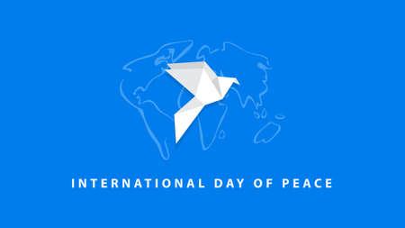 International Day of Peace vector Illustration 矢量图像