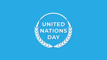 United Nations Day. Vector illustration