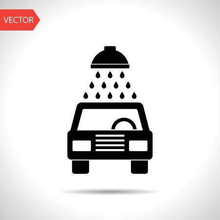 icon of car wash Illustration
