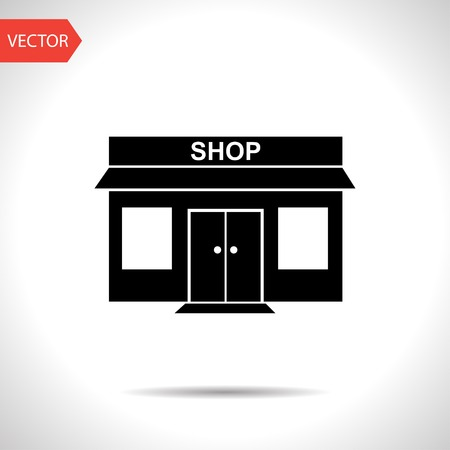 shop icon Vectores