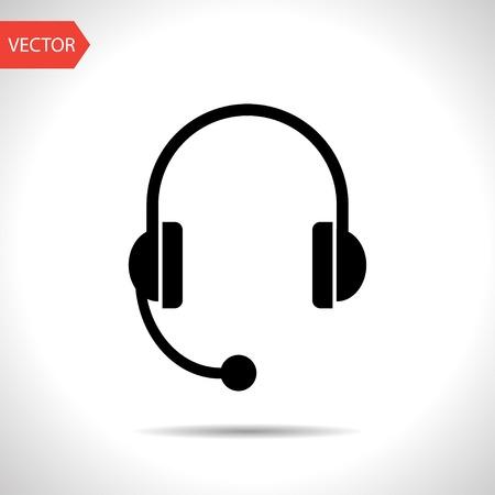 headset icon Illustration