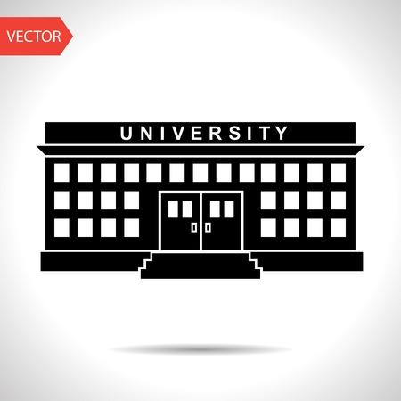 university building Illustration