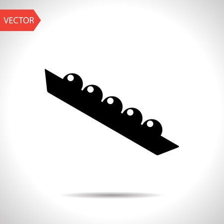 legume: Vector peas icon. Food icon.  Illustration