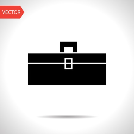Black Toolbox Icon