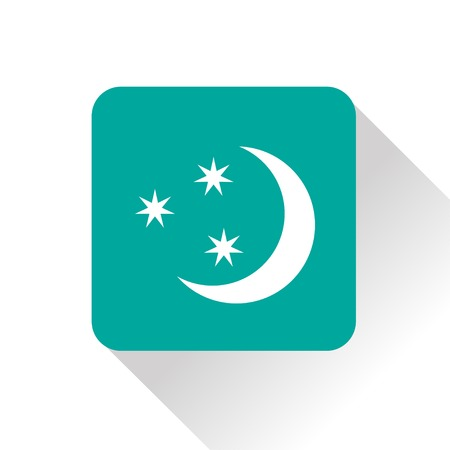 starry night: Weather icon of starry night.