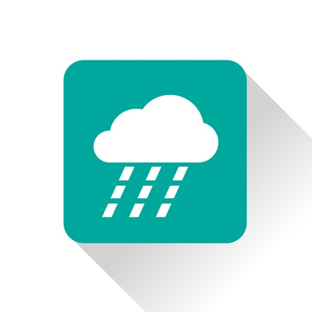 heavy rain: Weather icon of heavy rain.