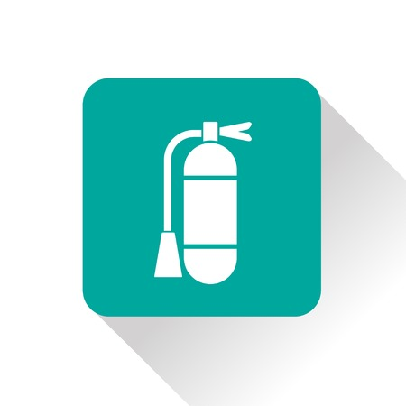 firealarm: icon of fire extinguisher