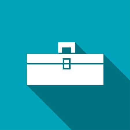 toolbox: icon of toolbox Illustration