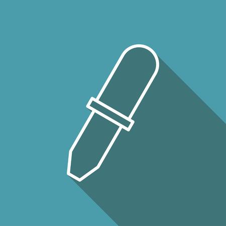 pipette: icon of pipette