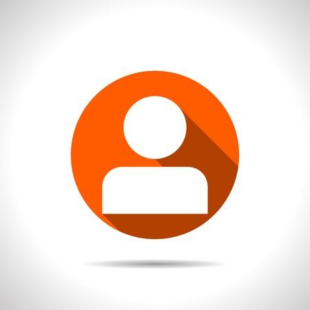 user icon: icon of person avatar