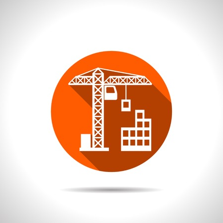 construction icon: building construction icon