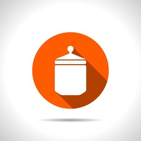 unlabeled: kitchen icon of jar