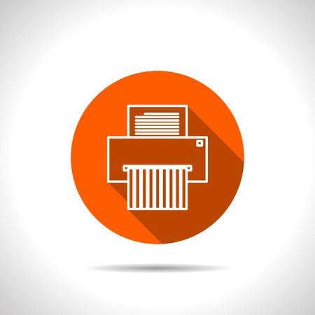 icon of shredder Stock Illustratie