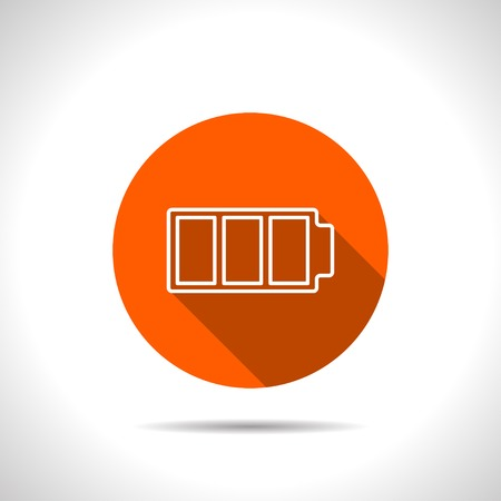 watt: icon of battery