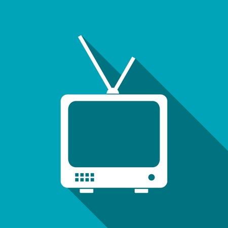 icon of tv set