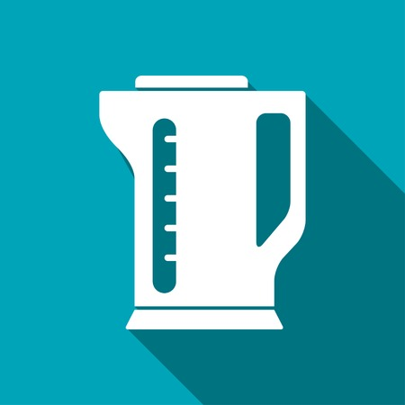 electric kettle: icon of electric kettle
