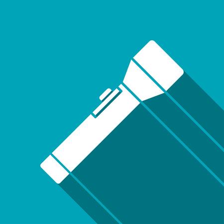taschenlampe: Taschenlampe icon Illustration