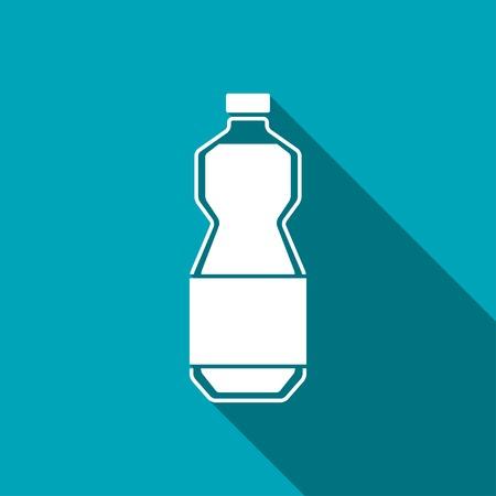 oil bottle: kitchen icon of oil bottle