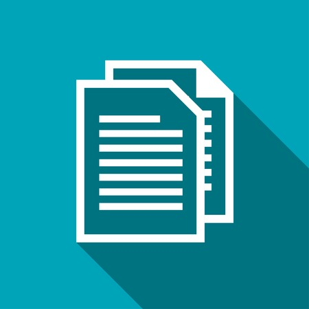 icon of documents Иллюстрация