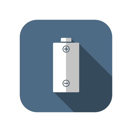 polarity: icon of battery