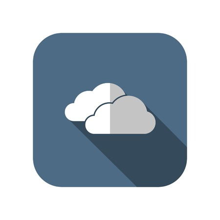 wheather forecast: icon of clouds
