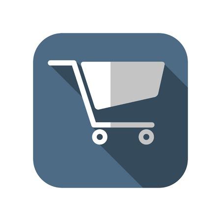 pushcart: icon of cart